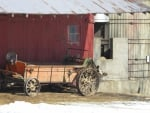 Sturdy Old Farm Equipment