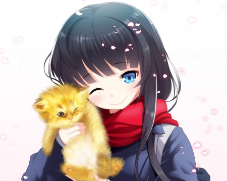 Cute Kitty Other Anime Background Wallpapers On Desktop Nexus Image 1705201