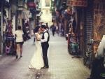 Street Dancing Wedding