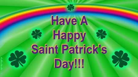 Have A Happy Saint Patrick's Day!