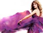 Taylor Swift in purple dress