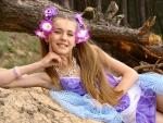 Lidia Petronella flower girl