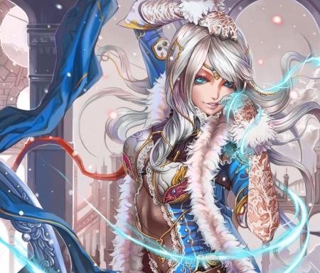 Snow Queen Other Anime Background Wallpapers On Desktop Nexus