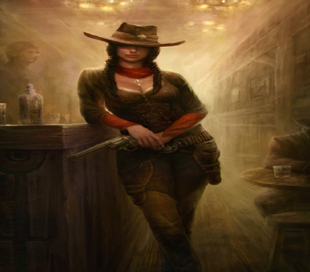 The Gunslinger Fantasy Abstract Background Wallpapers On Desktop Nexus Image 1708881
