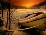 Boat Ice