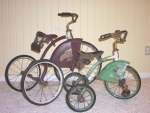 Awesome antique tricycle's beautiful