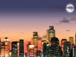 Sunrise in Big City
