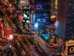 the vegas strip hdr