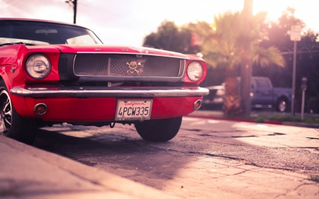 classic ford - classic, road, ford, car