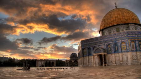 Dome Of The Rock In Jerusalem Hdr