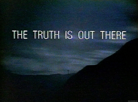 The X Files- The Truth...X Files The Truth Is Out There Wallpaper