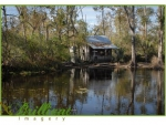 Small house on a bayou