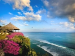 Beautiful view from Bali