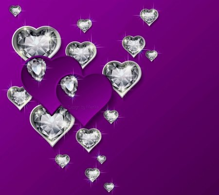 hearts diamonds other abstract background wallpapers on