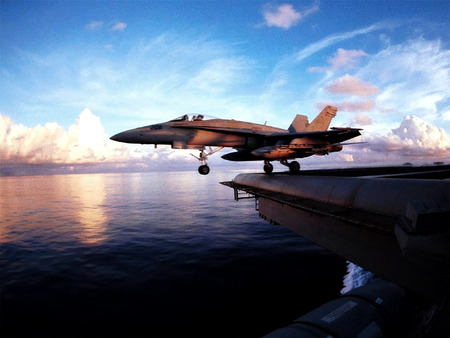 F 18 Military Aircraft Background Wallpapers On Desktop