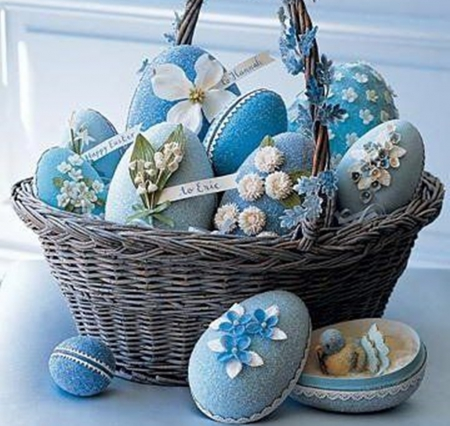 Easter - Easter, still life, holidays, photography, blue
