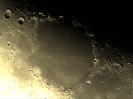 crater on the moon - impact, moon, craters, space