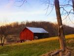 The Barn at Twilight