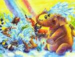 ★Waterhole & Under Rainbow★