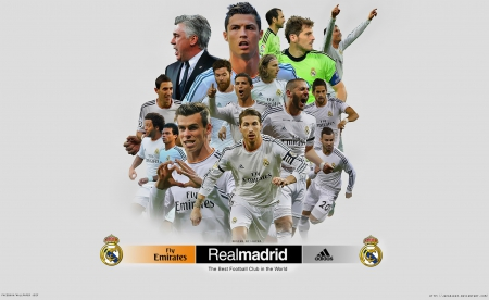 Real madrid Wallpaper 2014 - cr7, bale, Champions League Wallpapers, gareth bale real madrid wallpaper, isco, cristiano ronaldo wallpaper, spain, ronaldo, sergio ramos, madrid, Real Madrid  Wallpapers, Real Madrid, benzema, cristiano ronaldo, hala madrid, iker casillas, sergio ramos wallpaper, adidas, iker casillas wallpaper