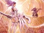 Samurai Angel, Hers Pet and White World