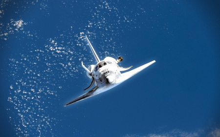 space shuttle - the, In, high, air