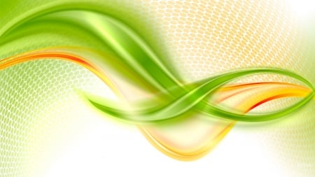 Abstract Green Gold Orange Mind Teasers Abstract