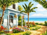 A relaxing house near the beach
