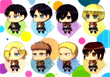 Shingeki No Kyojin Chibi Other Anime Background Wallpapers On Desktop Nexus Image 1725678