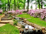 Spring Garden Landscaping-Time for Relax