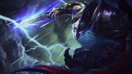 Shockblade Zed Nocturne - zed, nocturne, video game, moba, league of legends