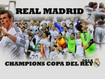 REAL MADRID CHAMPIONS COPA DEL REY 2014