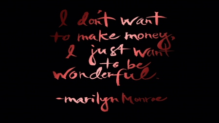 marilyn quote - windows, mac, marilyn, quote