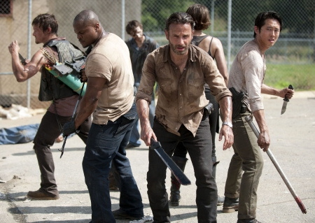 The Walking Dead - zombies, survival, horror, TV