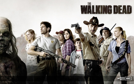 The Walking Dead - zombies, survival, series, TV, horror
