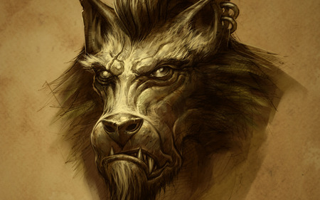 Comments On Worgen Portrait World Of Warcraft Wallpaper Id