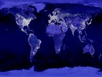 Nightlight over the World
