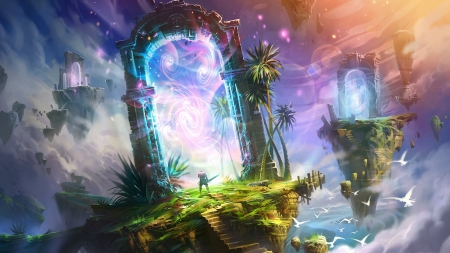 Fantasy Gate - Fantasy & Abstract Background Wallpapers on
