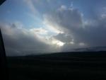 Montana Sun Peeping Through