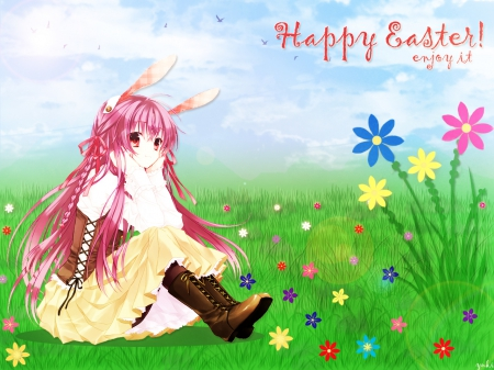 Happy Easter Enjoy It Other Anime Background Wallpapers On