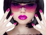 Beauty In Purple Makeup