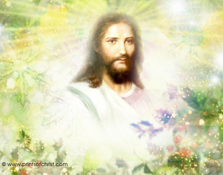 Christ in nature 3d and cg abstract background - 3d jesus wallpapers ...