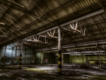 abandoned warehouse hdr