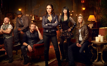 Lost Girl (2010-) - lost girl, ksenia solo, Zoie Palmer, Trick, Dyson, Kris Holden-Ried, Richard Howland, anna silk, Lauren, K C Collins, woman, girl, actress, people, tv series, Hale