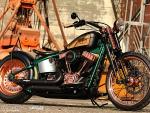 Jever Beer's Harley Blackline by Thunderbike