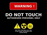 Warning Do Not Touch