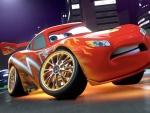 Orange car. :)