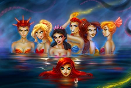 Disney Princess Mermaids