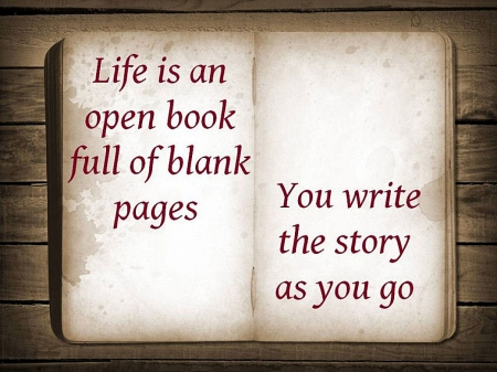 Open Book - life, quotes, signs, entertainment, fun, abstract