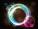 Frame Light Vector Circles